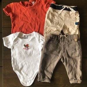 Baby 3-6 months clothing bundle(4 items included)
